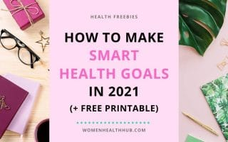 how to make perfect health goals - Women Health Hub