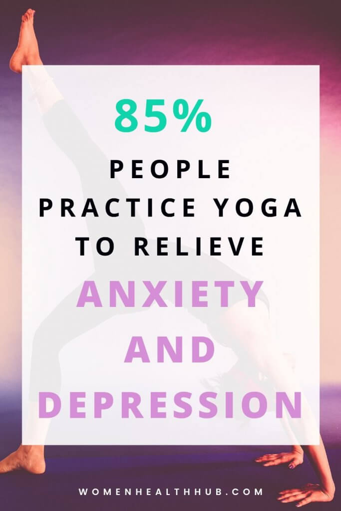 Yoga relaxes your mind and makes you calm. Practicing daily yoga routine helps you envision your day ahead, relieves anxiety, rids you of morning blues, and helps you become happier.