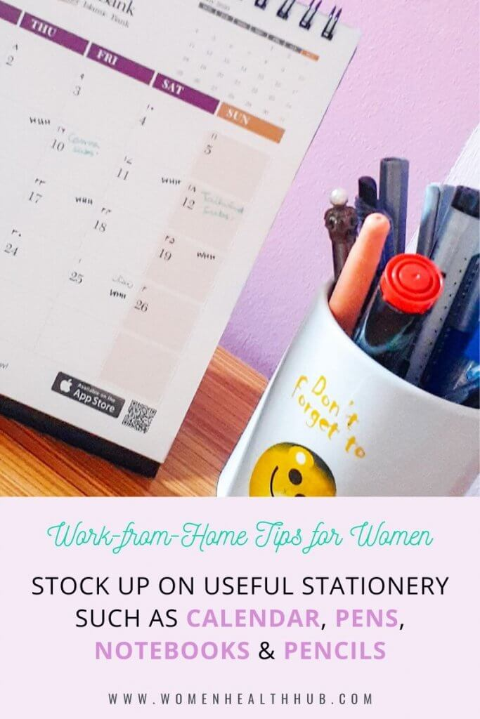 Stocking up on stationery before the month end can prevent you from emergency trips outdoors and also embarrassing moments!