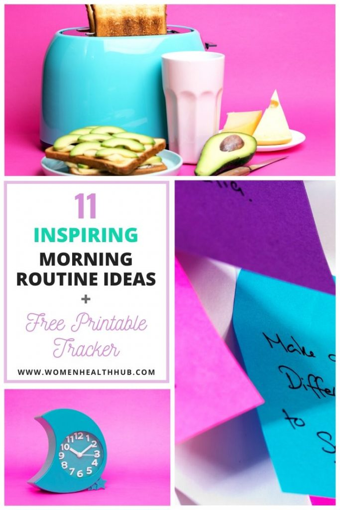 Want to enjoy refreshing & productive day from a place of mental wellbeing? Here's a list of 11 healthy morning routine ideas you can practice daily. Plus, grab a free weekly routine tracking sheet!