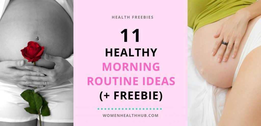Healthy Morning Routine Ideas + Free Tracker- Women Health Hub