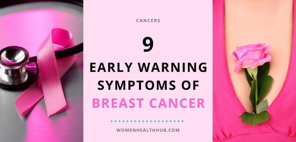 Early symptoms of breast cancer - Women Health Hub