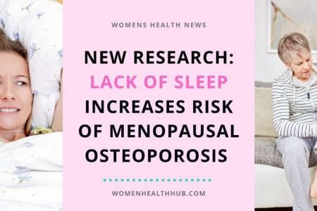 New Research: Lack of Sleep Increases Risk of Osteoporosis After Menopause