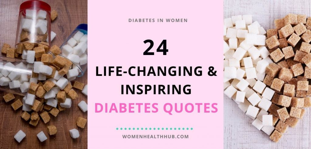 Inspirational Diabetes Quotes - Women Health Hub