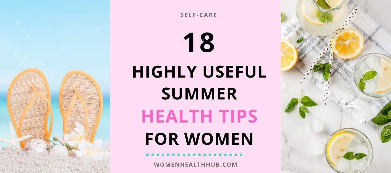 Health tips for summer - Women health hub